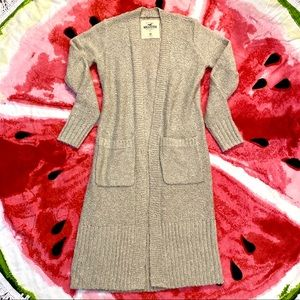 Hollister Knit Maxi Sweater Duster Cardigan